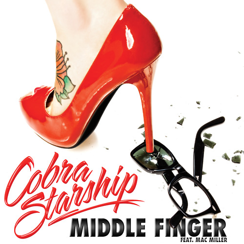 cobra starship ft mac miller middle finger