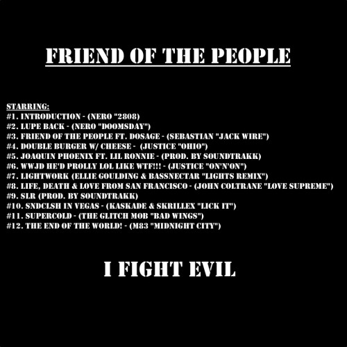 Lupe fiasco friend of the people tracklist
