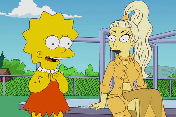 LADY+GAGA+IN+THE+SIMPSONS