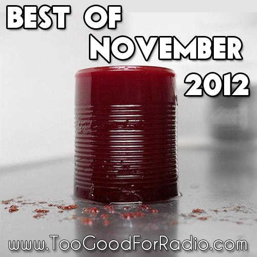 best songs of november 2012