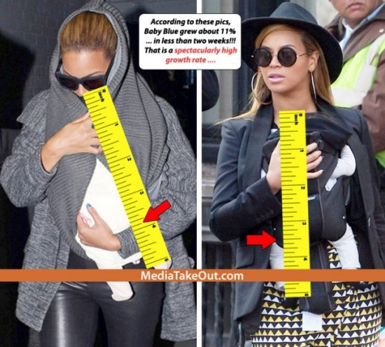 beyonce faked pregnancy