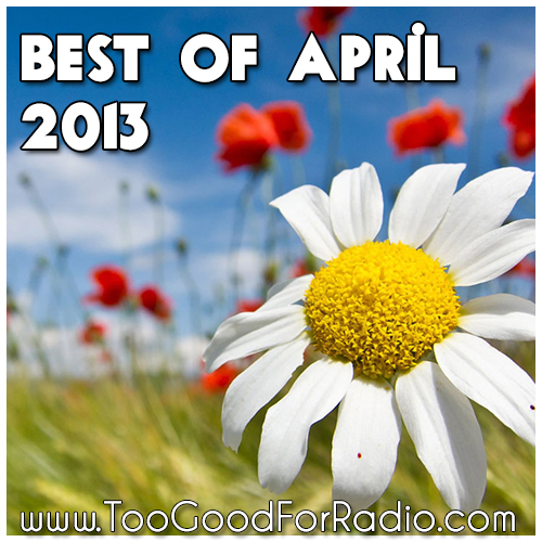 best songs of april 2013