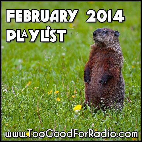 february 2014 music playlist