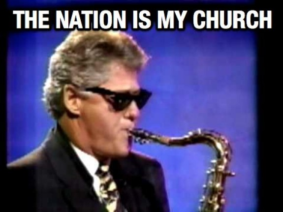 the nation is my church!